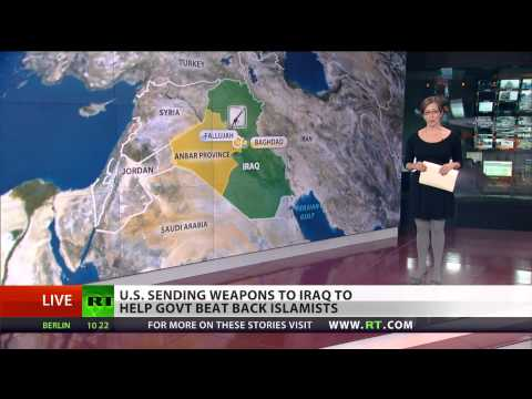 Fallujah Fight: US rushing to send drones & missiles to Iraq