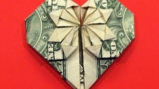 Origami Dollar Heart & Star How To Make A Dollar Heart