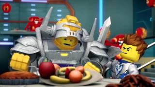 LEGO NEXO KNIGHTS - webizoda 5 - Sir Axl.. Věčně hladový!