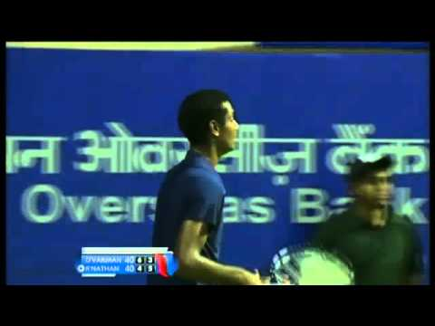 ACO2014- Day2: Match 2 Highlights- S DEVVARMAN vs R RAMANATHAN