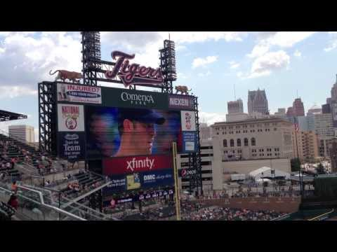 Detroit Tigers vs. Kansas City Royals 8/16/13