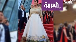 فستان وزيرة الثقافة الإسرائيلية في مهرجان كان يثير غضب العالم  