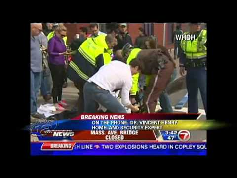 HSMI Professor / Director Vincent Henry: Homeland Security Expert on Boston Marathon Bombings