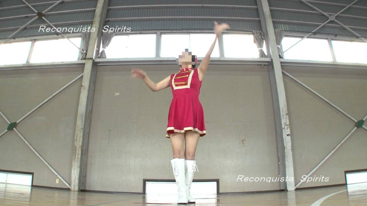 Tsukuda Hirotoshi  本物バトントワラーの華麗な演技! Tsukuda Hiro