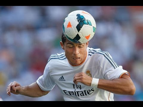 How to header like Cristiano Ronaldo!