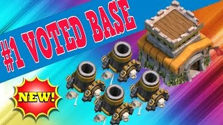 CLASH OF CLANS TH8 #1 BEST TOWN HALL 8 FARMING BASE