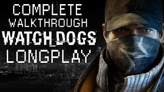 Watch Dogs All Missions Complete Full Game Walkthrough HD