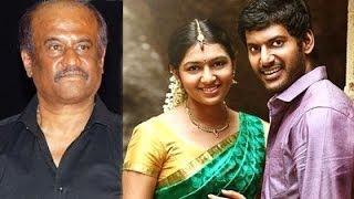 Rajini about Vishal's Naan Sigappu Manithan