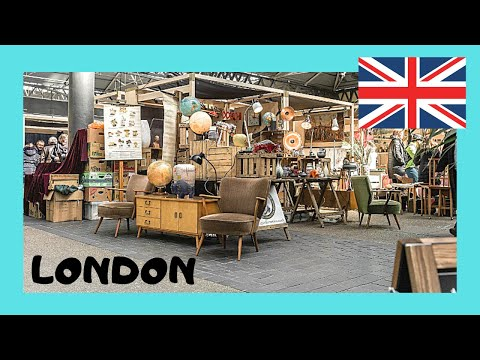 A tour of Old Spitalfields Market, London