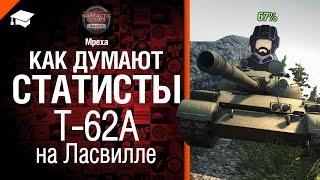 Как думают статисты: Т-62А на Ласвилле - от Mpexa [World of Tanks]