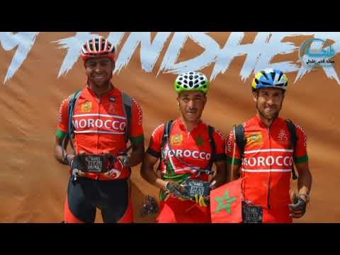 نورتيس تقدم جائزة لالياس العايدي الفائز بأحسن تريب في فريق المنتخب المغربي المشارك في السباق الدولي