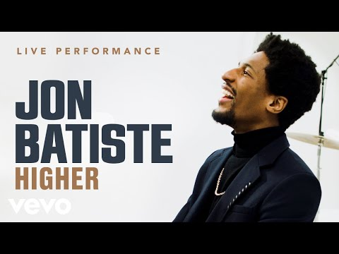 "Jon Batiste | ""Higher"" Live Performance | Vevo"