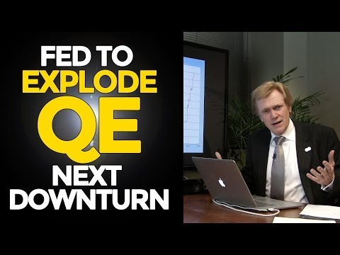 Fed to Explode QE Next Downturn - Can't Control Velocity - Mike Maloney