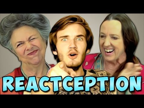 PewDiePie Reacts To: Elders React To: PewDiePie...