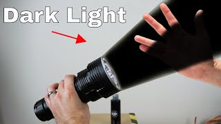 Can Light be Black? Mind-Blowing Dark Light Experiments!