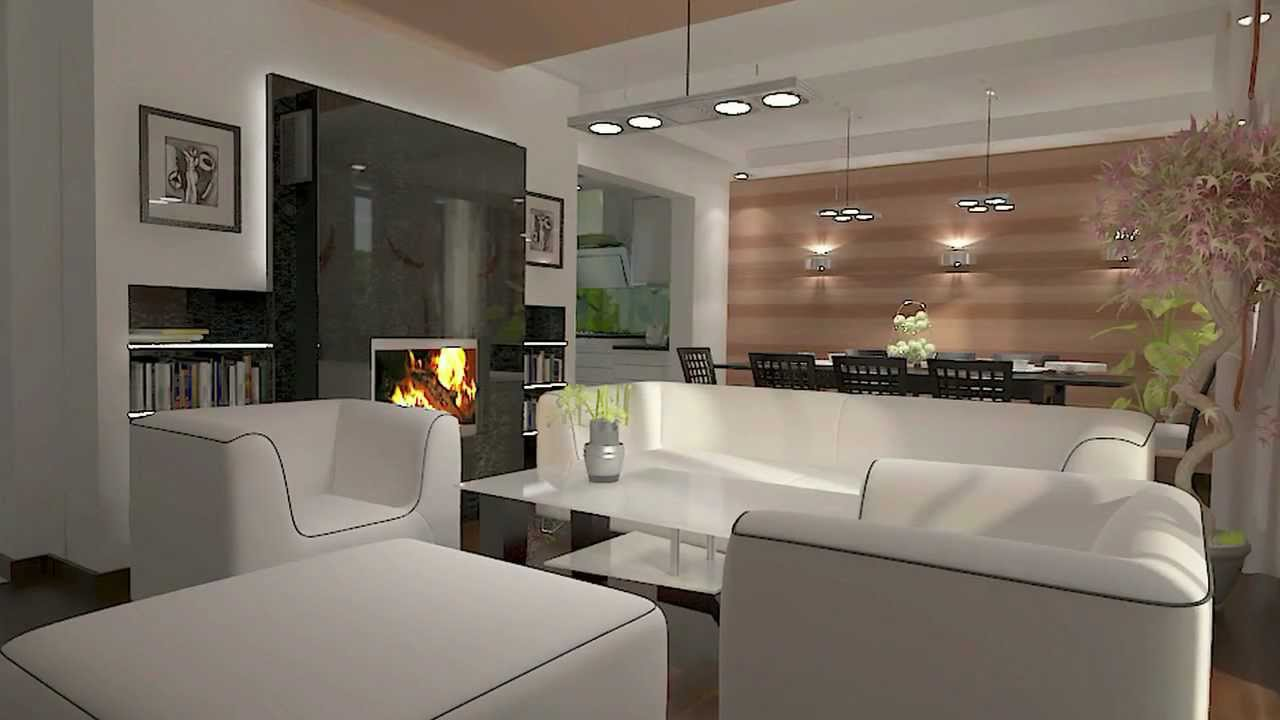 salonem Kitchen Design and living room Meble kuchenne  YouTube