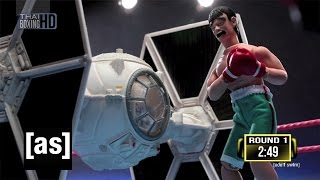 Star Wars TIE Fighter vs. Thai Fighter