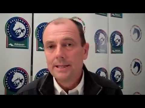Lars Petersen talks about his win with Mariett in the FEI Grand Prix Freestyle