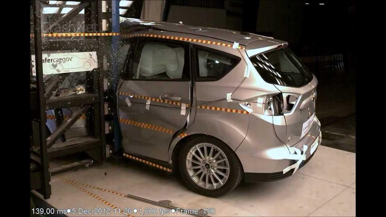 ford c max hybrid 2013 pole crash test nhtsa. Black Bedroom Furniture Sets. Home Design Ideas