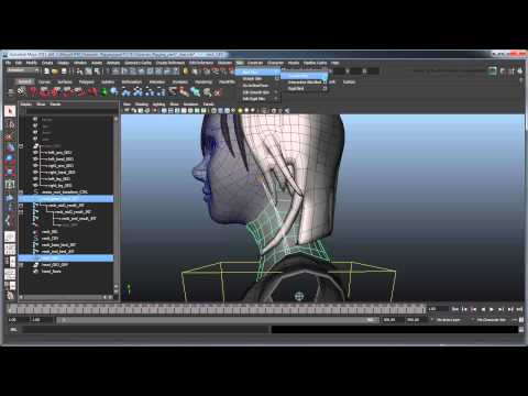 Creating a Character Rig - Part 7: Basic spline neck