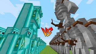 THỬ THÁCH HỦY DIỆT ĐỘI QUÂN 10 000 BỘ XƯƠNG SKELETON!! (Channy minecraft)