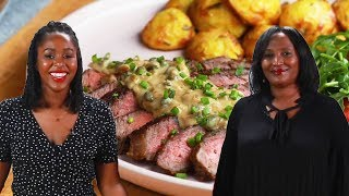 Can This Tasty Producer Make Steak As Good As Her Mom? • Tasty