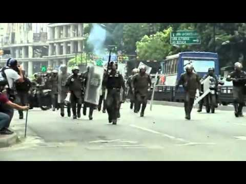 Clash in Caracas, 3 killed in violent protest 14 May 2014