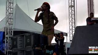 Jah Cure Live At Rebel Salute 2014