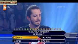 Kim milyoner olmak ister 219. bölüm Mehmet Kuru 14.05.2013