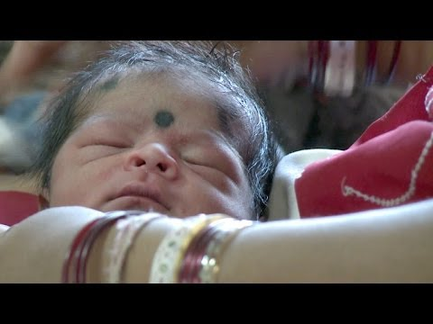 Innovations for mother and baby, in Madhya Pradesh, India