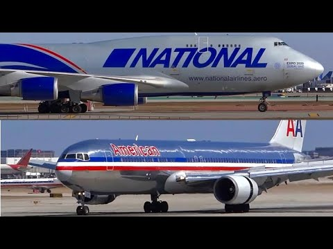 Airliners, Jumbo Jet Landings and Airport Action - HD Planespotting Chicago O'Hare