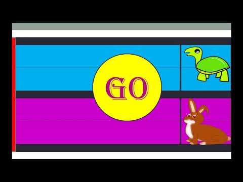 Fun Kids Racing Game   Tortoise Vs Rabbit   Funny Race Game For Kids