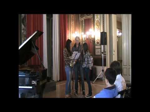 Arno Bornkamp Saxophone masterclass at Casino Sociale June 26 2010 Iturralde Suite Hellénique