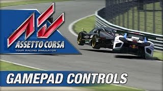 Assetto Corsa - Playable With Gamepad Controller?