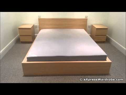 ikea malm bed with drawers instructions