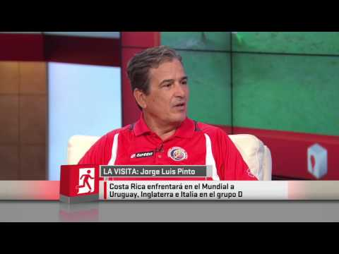 Nación ESPN: La visita de Jorge Luis Pinto