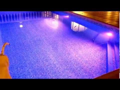 Ferienwohnung Valencia, Villa Gandia Hills, Gandia, Valencia, LumiPlus 1.11 RGB PAR56 Wireless