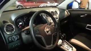 Interior Chevrolet Captiva 2014 Precio Caracteristicas
