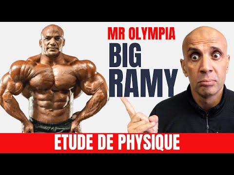 Etude de Physique :  Mr Olympia 2020  BIG RAMY