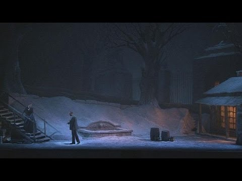 The tragic and stormy love story in Puccini's La Bohème at the New York Met - musica