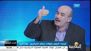 zitout,محمد زيتوت: رئيس فرنسا يهين الجزائر مجددا