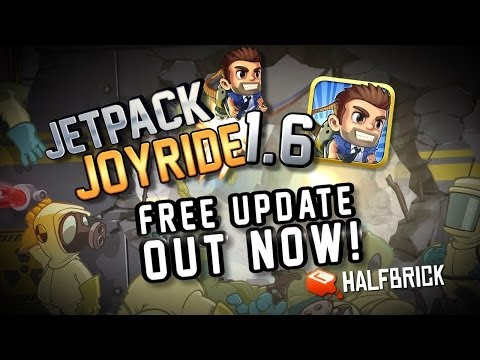 Jetpack Joyride : S.A.M Gameplay Post update 1.6 Played by TNG