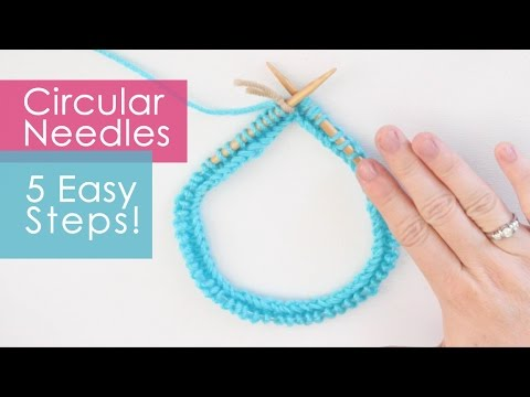 How to Knit on Circular Needles in 5 Easy Steps | KNITTING TOOLS