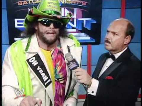 Macho Man Randy Savage interview about Jake the Snake