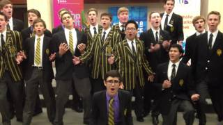 St Laurence's Vocal Ensemble perform at Catholic Education Week, Minister's Reception