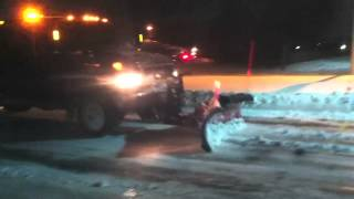 Commercial Snow Plowing And Salting Parking Lots