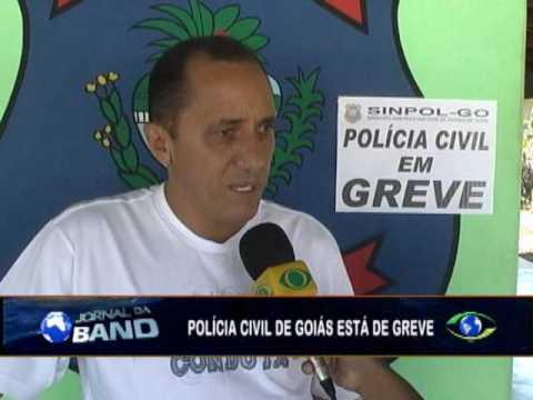 Polícia Civil de Goiás está em greve desde esta segunda-feira