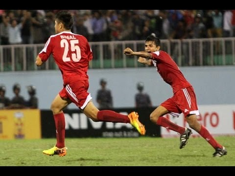 FULL MATCH: Pakistan vs Nepal - SAFF Championship 2013