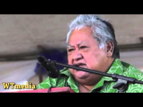 PM of Samoa - Official Speech for SMSM 150yrs Celebration (funniest part)