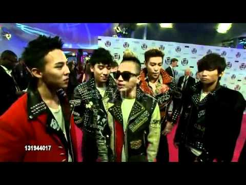 BiG BANG: 2011 MTV Europe Music Awards [RED CARPET iNTERViEW]